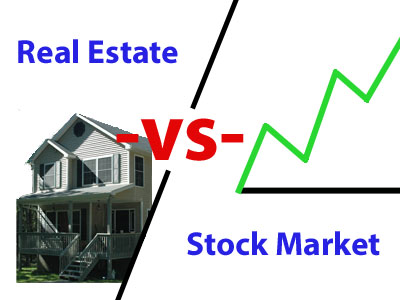 re-vs-stock-market